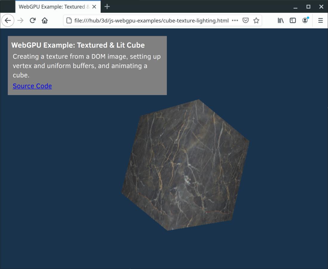 webgpu-cube